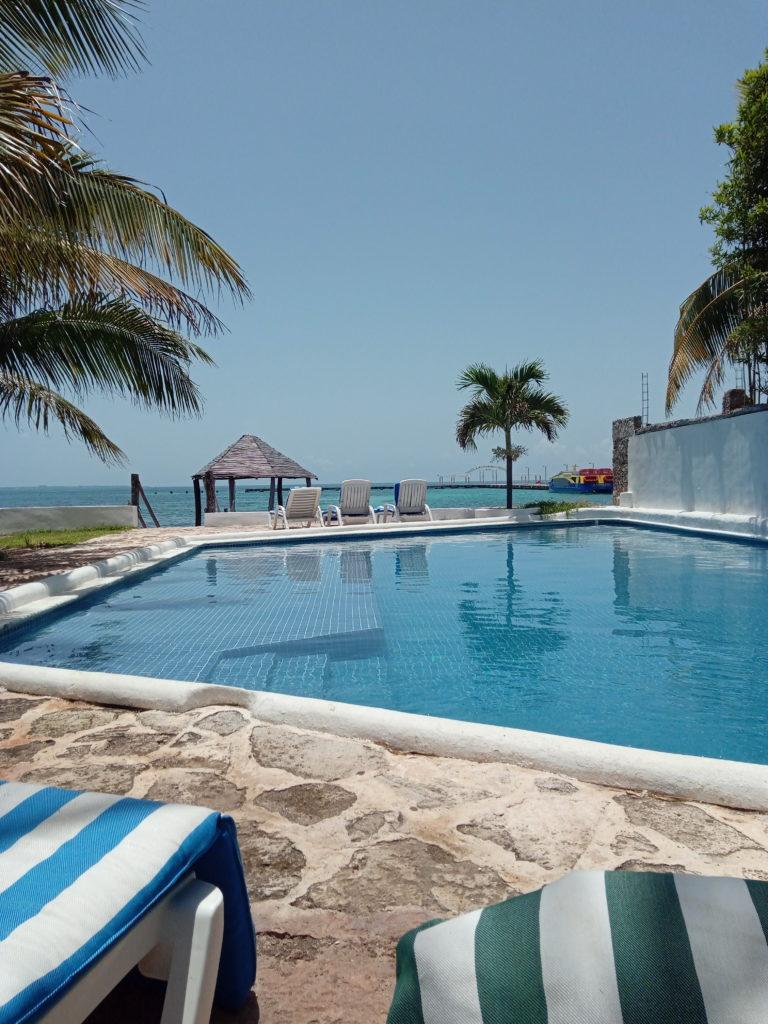 hôtel-Casa-Mexicana-Cancùn-piscine
