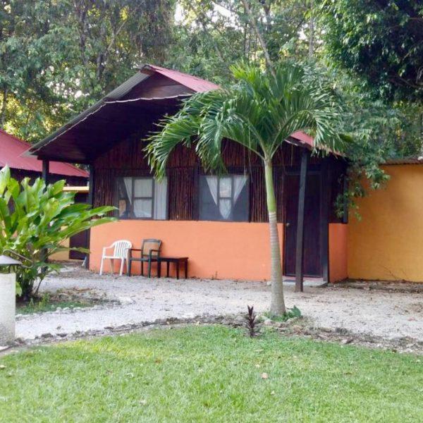 Cabane de l'hôtel de Palenque