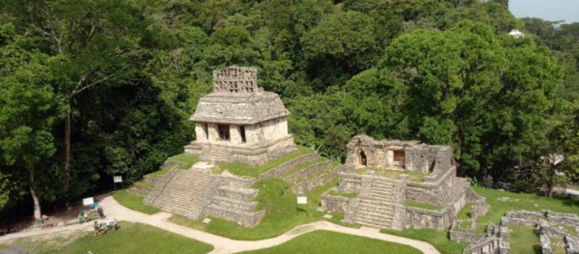 Palenque-vue-du-site-archéologique-pyramide